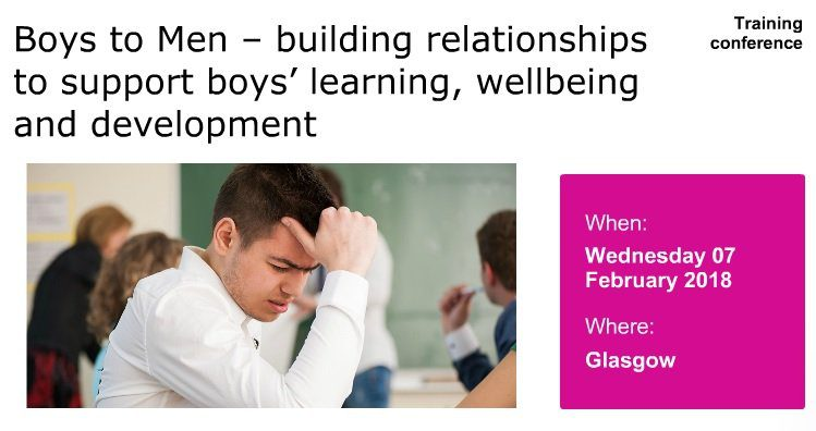 Boys conference advert