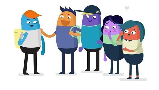 A still from the SPIRTO animated films 'Nude Selfies: What Parents and Carers need to know'